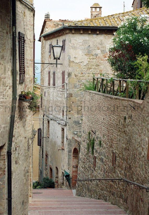 103 Best Arte In Toscana Images On Pinterest | Paintings, Drawings Pertaining To Italian Stone Wall Art (Image 2 of 20)