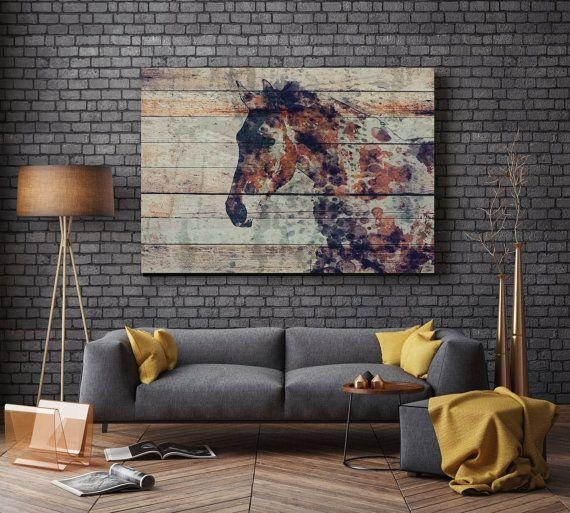 1054 Best Horse Art Images On Pinterest | Horse Art, Kid Wall Art Within Extra Large Contemporary Wall Art (Image 1 of 20)