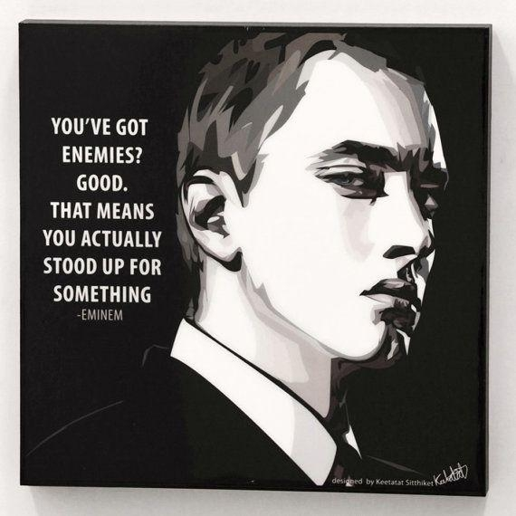 106 Best Wall Quotez Art Images On Pinterest | Accounting, Daily For Eminem Wall Art (Image 1 of 20)