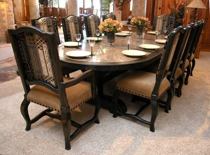 11 Best Granite Table Images On Pinterest | Granite Table, Dinning Regarding Most Popular Dining Room Tables (Image 1 of 20)