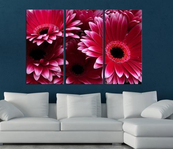 11 Best Wall Art Images On Pinterest | Canvas Prints, Canvas Walls Pertaining To Flower Wall Art Canvas (Image 1 of 20)
