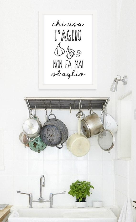 110 Best Witty Kitchen Quotes Images On Pinterest | Cooking Quotes Pertaining To Italian Phrases Wall Art (View 16 of 20)