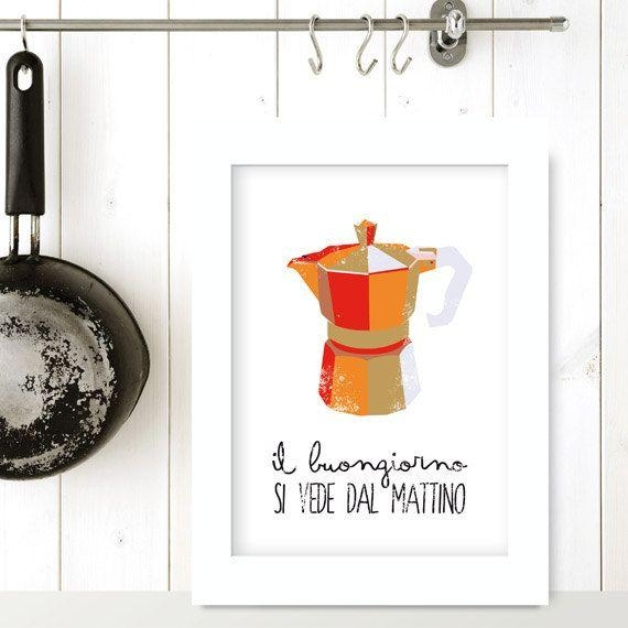 112 Best Wall Prints Images On Pinterest | Wall Prints, Kitchen Pertaining To Italian Coffee Wall Art (Image 1 of 20)