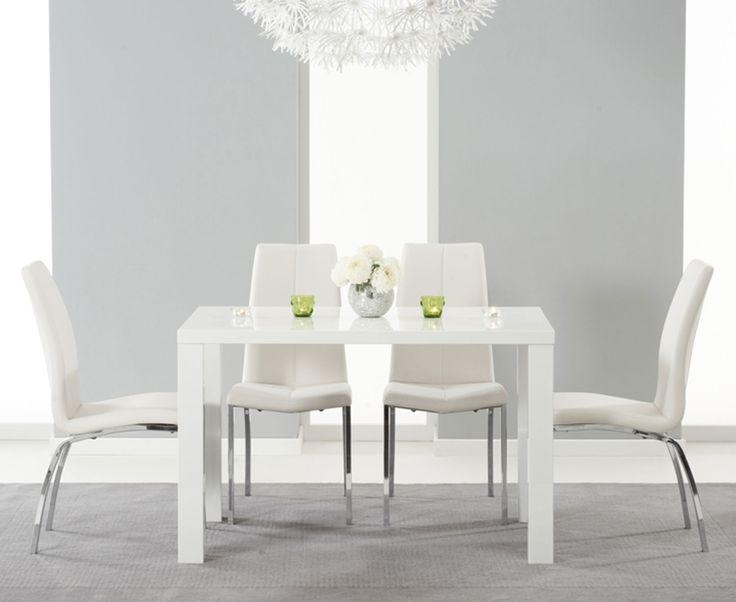 114 Best Dining Room Images On Pinterest | Dining Tables, Dining Within White High Gloss Dining Tables And Chairs (View 20 of 20)