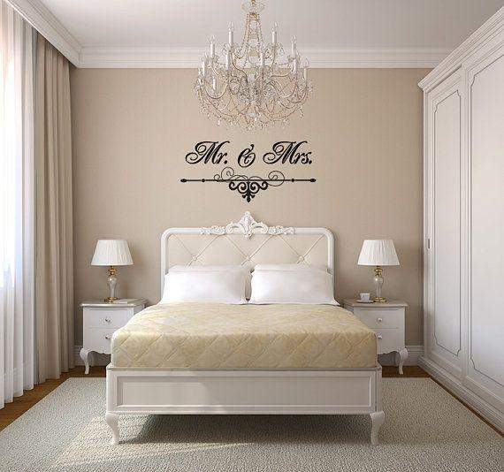 114 Best Vinyl Decals Wall Art Images On Pinterest | Vinyl Decals Pertaining To Mr And Mrs Wall Art (Image 2 of 20)