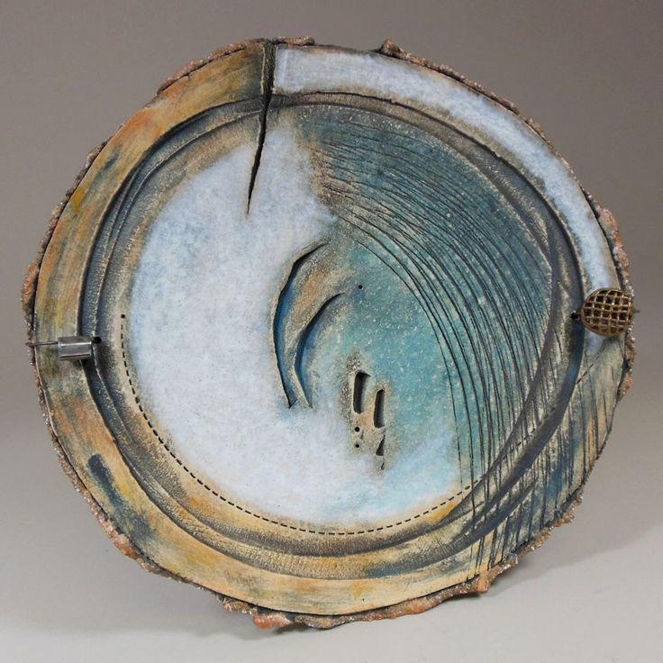 1207 Best Ceramic Sculpture Images On Pinterest | Ceramic Regarding Midnight Italian Plates Wall Art (Image 2 of 20)