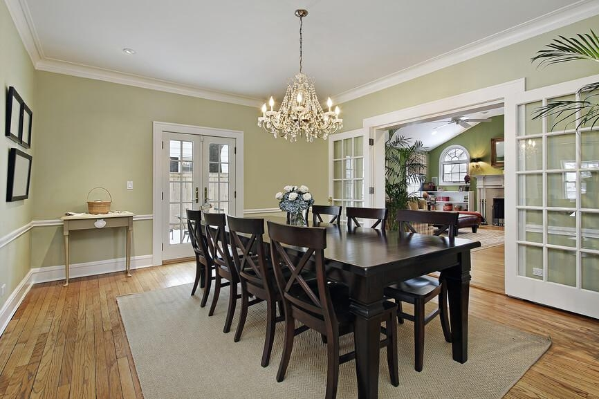 126 Custom Luxury Dining Room Interior Designs For Current Dark Wood Dining Tables And Chairs (View 14 of 20)