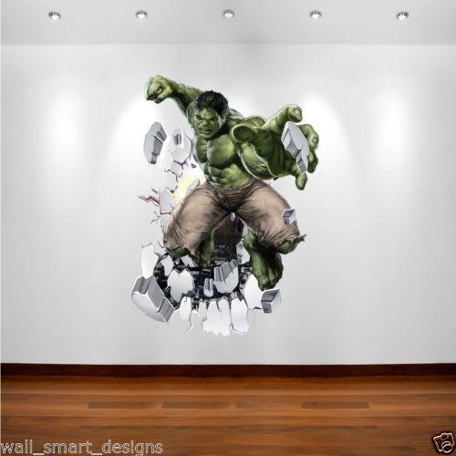 13 Best Bedroom Wall Decals Images On Pinterest | Bedroom Ideas Intended  For Superhero Wall Art