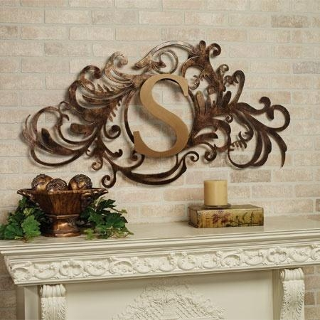 13 Best Monogram Wall Grilles Images On Pinterest | Metal Wall Art Pertaining To Monogram Metal Wall Art (Image 1 of 20)
