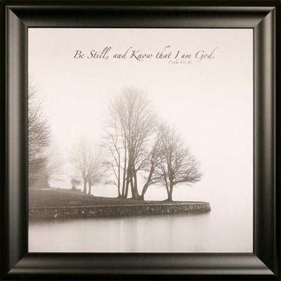 134 Best Christian Wall Art Images On Pinterest | Christian Wall With Regard To Be Still And Know That I Am God Wall Art (View 20 of 20)