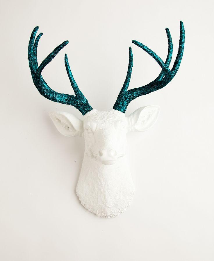 134 Best Maison > Hall > Déco Murale Images On Pinterest Within Resin Animal Heads Wall Art (Image 1 of 20)