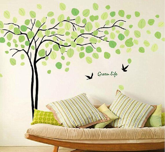 137 Best Wall Stickers Images On Pinterest | Wall Stickers, Tree Within Tree Of Life Wall Art Stickers (View 13 of 20)
