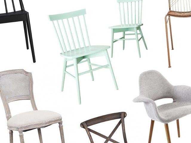 14 Affordable Dining Chairs Under $200 | Mydomaine With Recent Stylish Dining Chairs (Image 1 of 20)