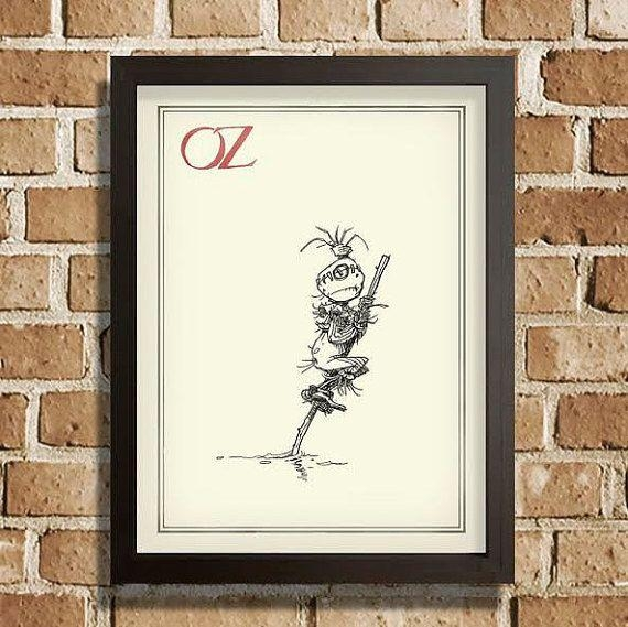 14 Best My Artwork Images On Pinterest | Wall Art Prints, Wizards For Wizard Of Oz Wall Art (Image 1 of 20)