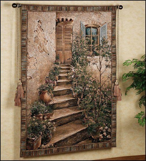15 Best Tapestry Images On Pinterest | Tapestry Wall Hanging, Wall Intended For Italian Scene Wall Art (Image 1 of 20)