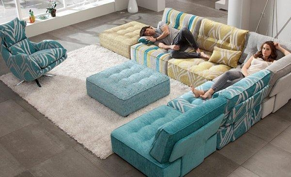 15 Flexible Modern Modular Sofa Systems | Home Design Lover For Mahjong Sofas (Image 2 of 20)