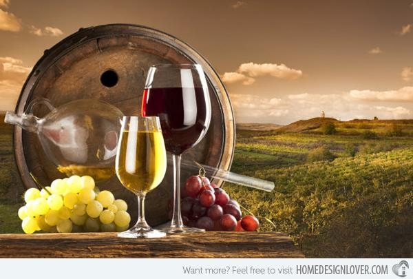 Featured Image of Wine And Grape Wall Art