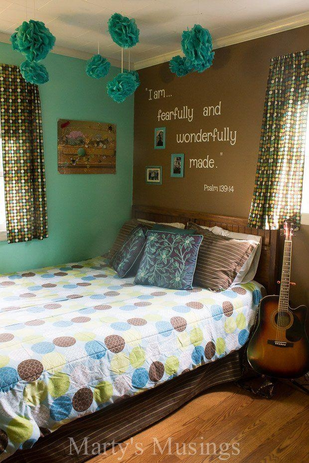15 Teen Girl Bedroom Ideas That Are Beyond Cool | Teen, Bedrooms With Regard To Wall Art For Teenage Girl Bedrooms (View 11 of 20)