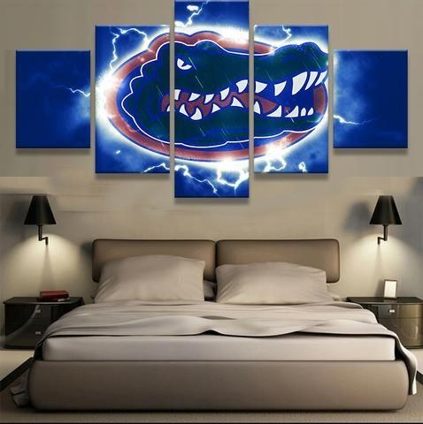 153 Best Go Gators Images On Pinterest | Gator Football, Florida For Florida Gator Wall Art (View 5 of 20)