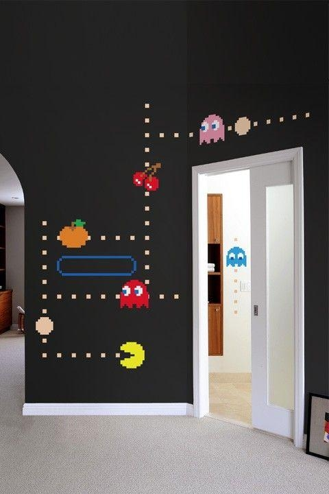 167 Best Decorate The Game Room Images On Pinterest | Basement Intended For Wall Art For Game Room (Image 1 of 20)