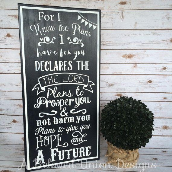 17 Best Graduation Jeremiah 29:11 Images On Pinterest | Jeremiah Regarding Jeremiah 29 11 Wall Art (Image 2 of 20)