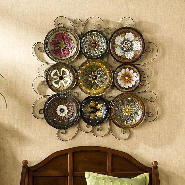 17 Best Italian Plates And Pottery Images On Pinterest | Italian Inside Scattered Italian Plates Wall Art (View 5 of 20)
