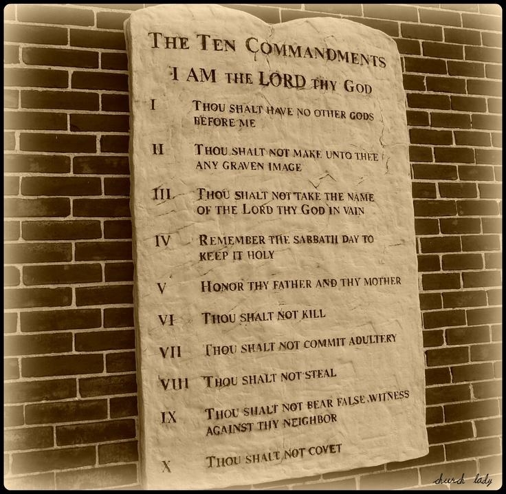 17 Best The Ten Commandments Images On Pinterest | Ten In 10 Commandments Wall Art (View 20 of 20)