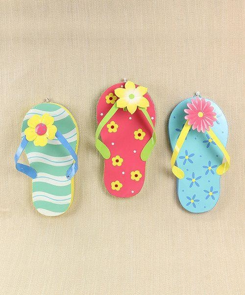 1704 Best Flip Flops Fun On Pinterest! Images On Pinterest | Shoes Intended For Flip Flop Wall Art (Image 2 of 20)