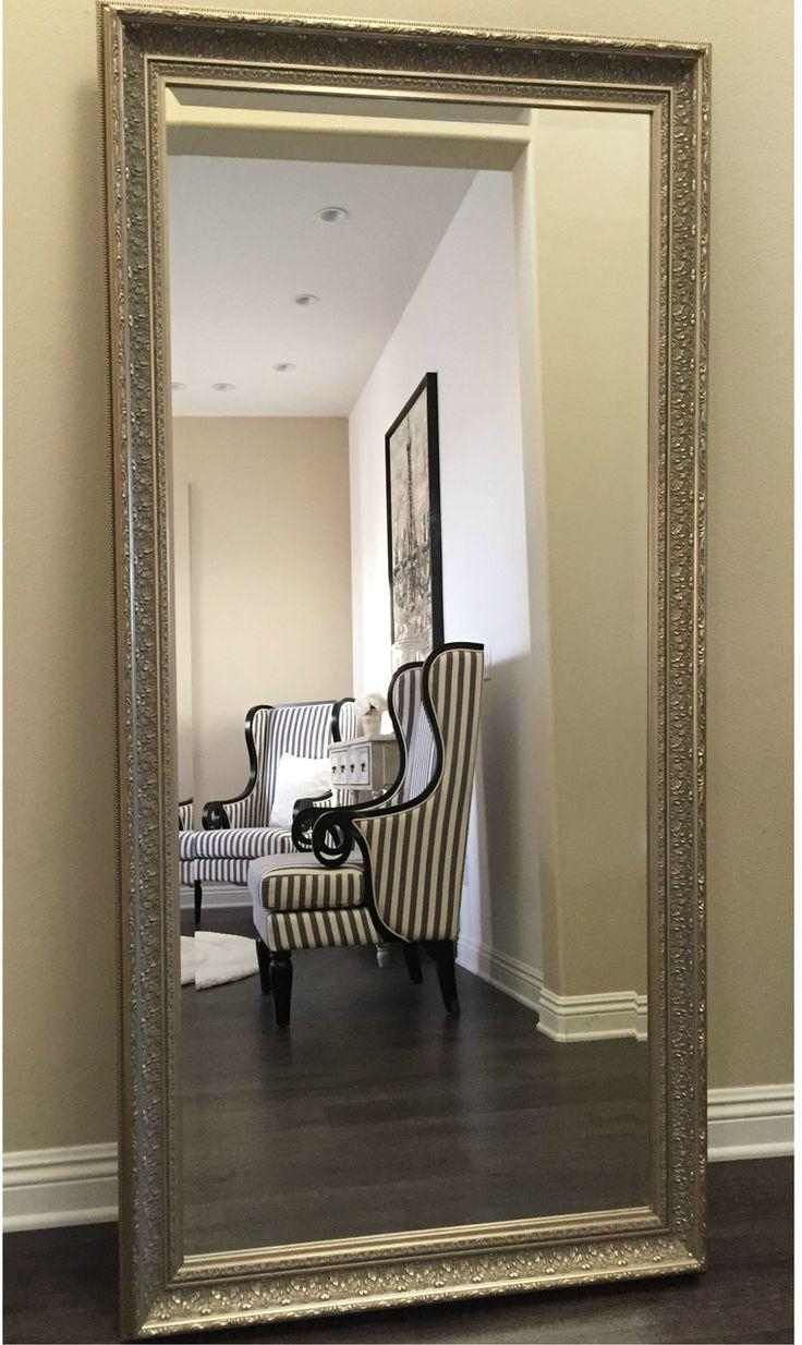 18 Best Floor Mirrors Images On Pinterest | Floor Mirrors, Wall In Framed Floor Mirrors (View 15 of 20)