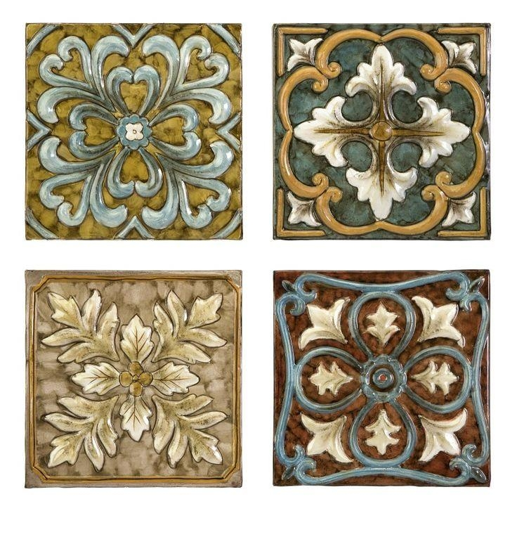 18 Best Kitchen Images On Pinterest | Bronze, Decorative Metal And With Medallion Tiles Wall Art (Image 1 of 20)