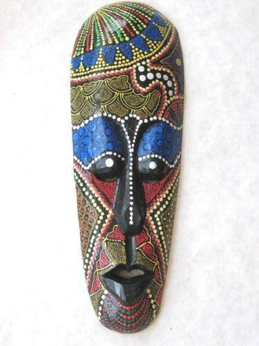 18 Best Masks Images On Pinterest | African Masks, Hand Carved And In Wooden Tribal Mask Wall Art (Image 2 of 20)