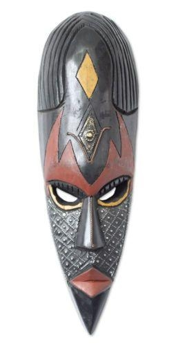 18 Best Masks Images On Pinterest | African Masks, Hand Carved And With Wooden Tribal Mask Wall Art (Image 3 of 20)