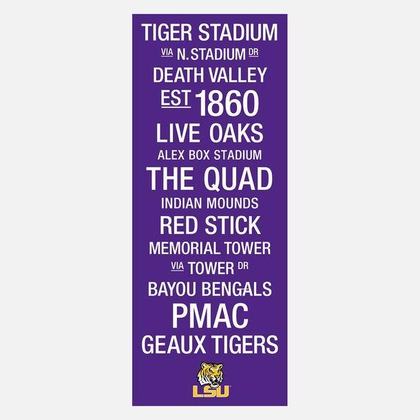 187 Best Lsu Tiger Images On Pinterest | Lsu Tigers Football Within Lsu Wall Art (Image 1 of 20)