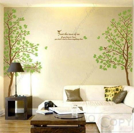 194 Best Vinyl Images On Pinterest | Wall Stickers, Nursery Wall For Oak Tree Vinyl Wall Art (Image 1 of 20)