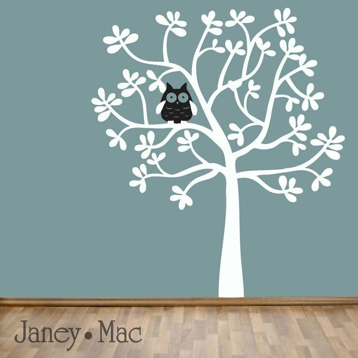 194 Best Vinyl Images On Pinterest | Wall Stickers, Nursery Wall Regarding Oak Tree Vinyl Wall Art (Image 2 of 20)