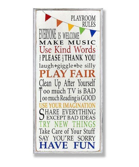 195 Best Personal Assistant: Peace Of Mindwith A Little Help In Playroom Rules Wall Art (Image 1 of 20)