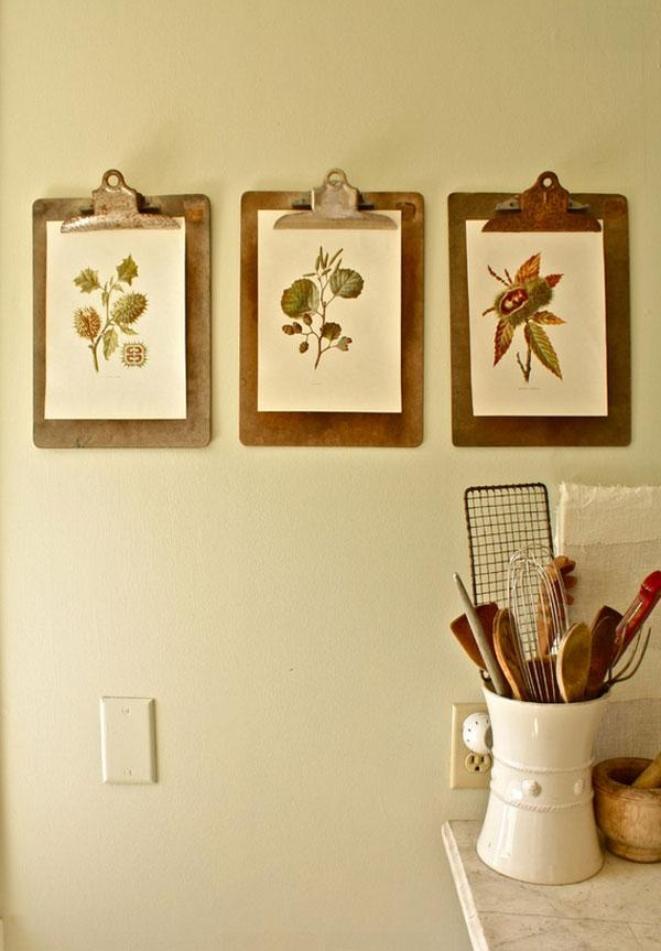 20 Art Inspirations For Your Kitchen Walls — Eatwell101 In Wall Art For The Kitchen (Image 3 of 20)