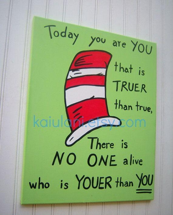 20 Best Canvas Art Images On Pinterest | Canvas Art, Canvas Ideas Intended For Dr Seuss Canvas Wall Art (Image 1 of 20)