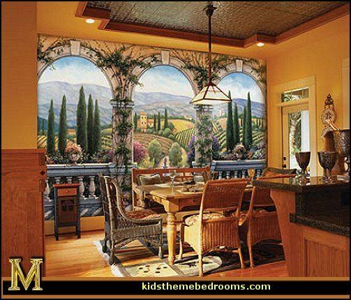 20 Best Murals Images On Pinterest | Mural Ideas, Wall Murals And With Italian Villa Wall Art (Image 3 of 20)