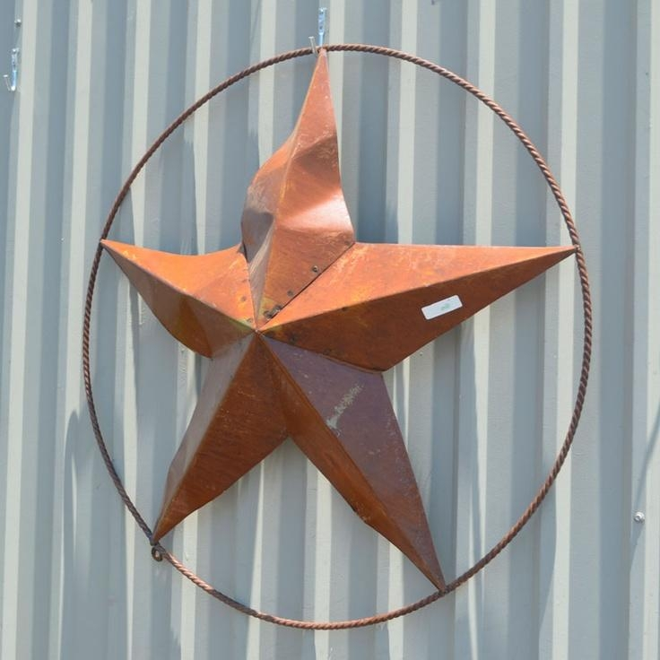 20 Best Outdoor Wall Art Images On Pinterest | Outdoor Walls Regarding Texas Star Wall Art (Image 1 of 20)