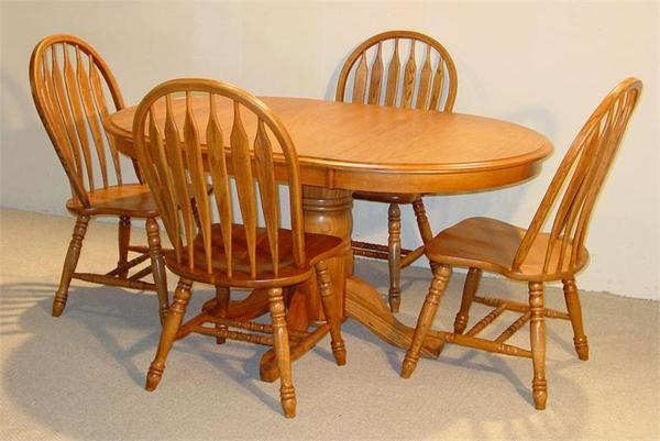 20 Best Oval Oak Dining Tables And Chairs Dining Room Ideas