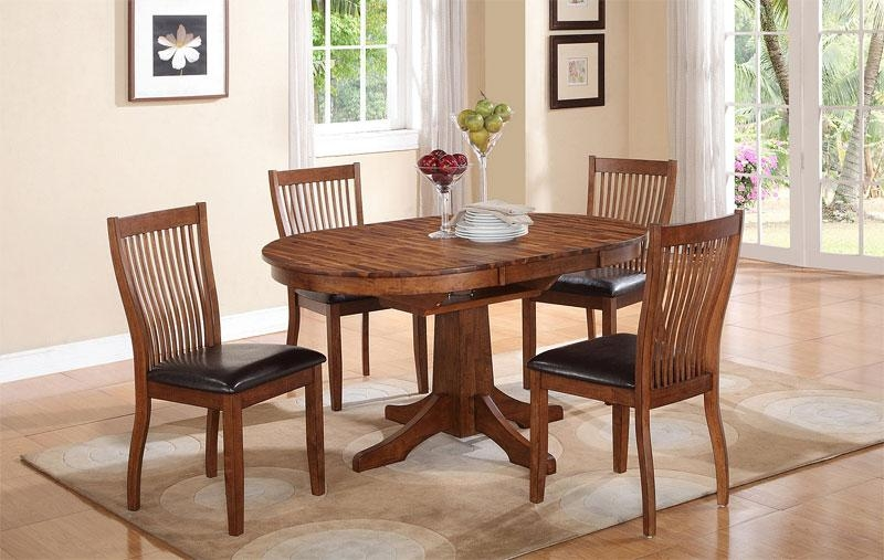20 Perfectly Shaped Oval Pedestal Table For Your Dining Area With Recent Dining Room Chairs Only (Image 1 of 20)