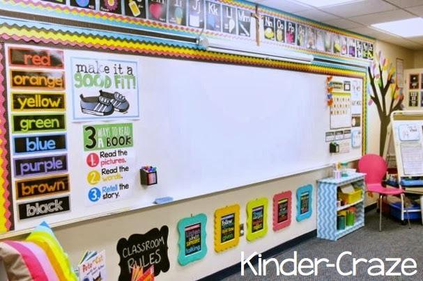 2013 Classroom Reveal {At Last!} Regarding Wall Art For Kindergarten Classroom (Image 1 of 20)