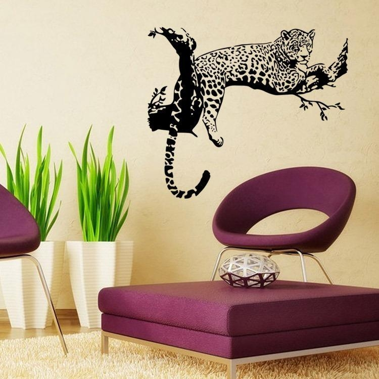 2015 Hot Tigers Wall Decal Animal Styles Of Wall Stickers Tiger With Regard To Wall Cling Art (Image 1 of 20)