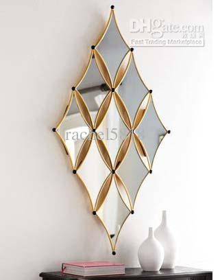2017 Mr 201140 Iron Wall Decoration, Mirrored Wall Art,modern Regarding Modern Mirrored Wall Art (View 11 of 20)