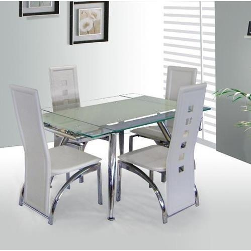 207 Best Dining Room Furniture Images On Pinterest | Dining Room Inside Current Clear Glass Dining Tables And Chairs (Image 1 of 20)