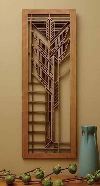 21 Best Wall Decor Images On Pinterest | Wall Decor, Frank Lloyd In Frank Lloyd Wright Wall Art (Image 3 of 20)