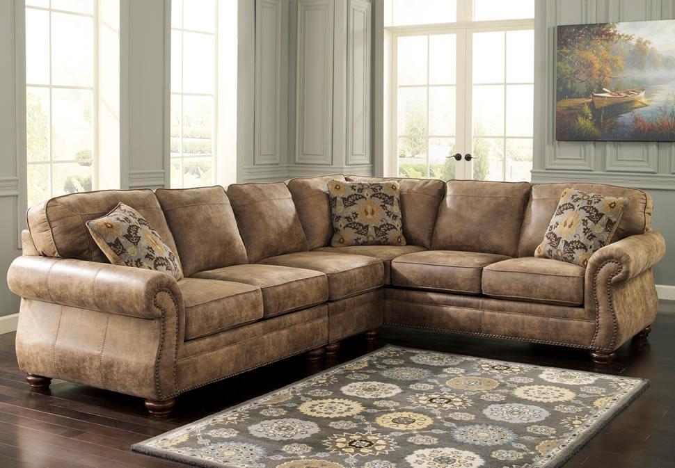 21 Traditional Leather Sectional Sofa | Carehouse Throughout Traditional Leather Sectional Sofas (Image 1 of 20)