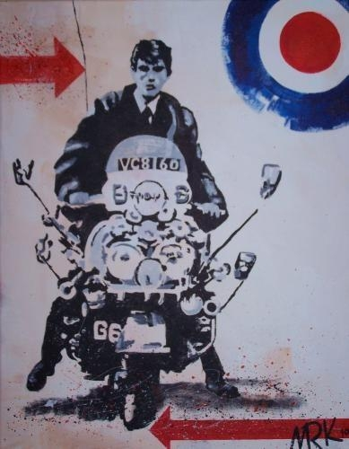 211 Best Quadrophenia Images On Pinterest | Scooters, Rude Boy And Within Quadrophenia Wall Art (Image 2 of 20)