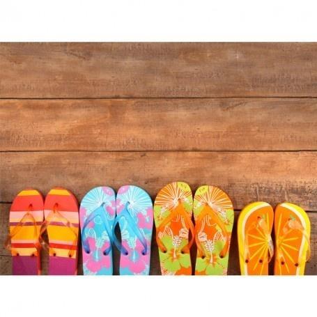 221 Best Flip Flop Fun Images On Pinterest | Flip Flops, Summer Throughout Flip Flop Wall Art (Image 3 of 20)